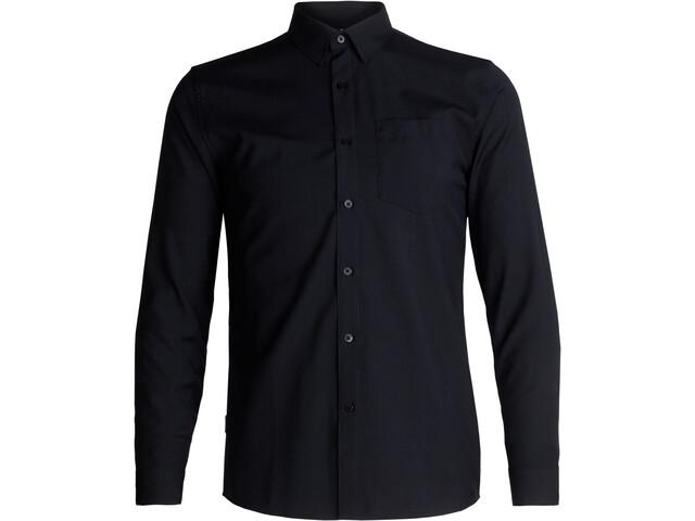Icebreaker Departure II Longsleeve Shirt Men black